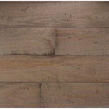 "Wide Plank 6"" Engineered Maple Hardwood Flooring in Mist"