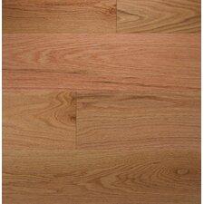 """Wide Plank 7"""" Engineered Oak Hardwood Flooring in Natural"""