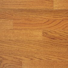 "Color Plank 5"" Engineered Red Oak Hardwood Flooring in Golden Oak"