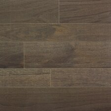 """Homestyle 3-1/4"""" Solid White Oak Hardwood Flooring in Charcoal"""