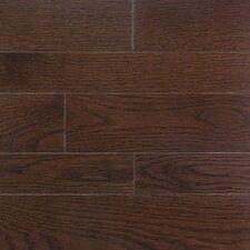 """Homestyle 2-1/4"""" Solid White Oak Hardwood Flooring in Metro Brown"""