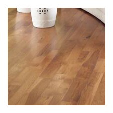 """Character 5"""" Solid Hickory Hardwood Flooring in Saddle"""