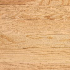 "Color Plank 3-1/4"" Engineered Red Oak Hardwood Flooring in Natural"