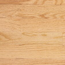 "Color Plank 5"" Engineered Red Oak Hardwood Flooring in Natural"