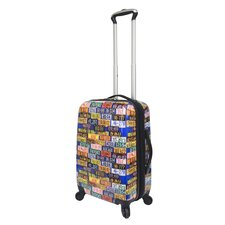 "Saturday Evening Post 20"" Hardside Spinner Suitcase"