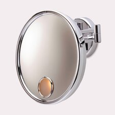 Euro Hard Wired Wall Mount Lighted Mirror