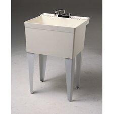 """23"""" x 21.5"""" Single Floor Mounted Utility Sink"""