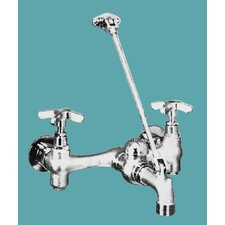 Commercial Garage Faucets with Vacuum Breaker, Pail Hook and Hose Thread