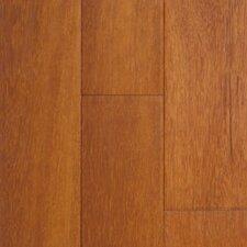 """Exotic 3-5/8"""" Solid Kempas Hardwood Flooring in Natural"""