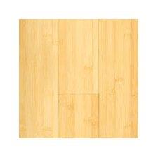 "5-3/8"" Engineered Bamboo Hardwood Flooring in Natural Matte"