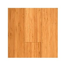 "5-3/8"" Engineered Bamboo Hardwood Flooring in Carbonized Matte"
