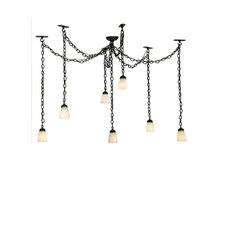 Castilian Adjustable 7 Light Cascade Pendant