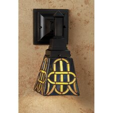 1 Light Knotwork Mission Wall Sconce