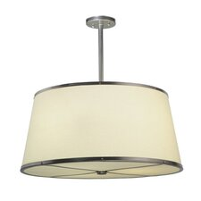 Cilindro Cream 3 Light Drum Pendant