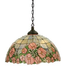 Victorian Cabbage Rose Pendant