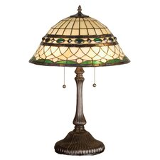 "Tiffany Roman 23"" H Table Lamp with Bowl Shade"