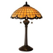 "Victorian Elan 24"" H Table Lamp with Bowl Shade"