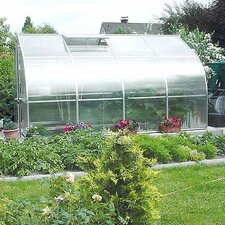 Riga IV 7.5 Ft. W x 14 Ft. D Polycarbonate Commercial Greenhouse