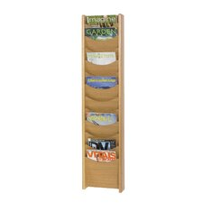 Large Solid Wood Display Pockets