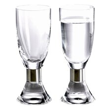 Elegance Snaps Glass (Set of 2)