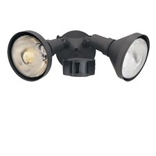 Area and Security 180 Degree Motion Detector Twin Light
