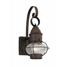 Nantucket 1 Light Wall Lantern