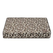 Flocked Rectangular Pillow Bed