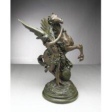 Pegasus and Hermes Statue