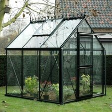 Junior Victorian 8 Ft. W x 10 Ft. D Glass Greenhouse