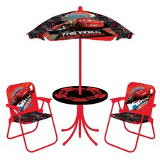 Cars 2 Phase 2 Kids Cafe Patio Chair Set