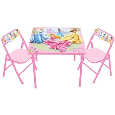Princess Glow The True Princess Within Kids Square Activity Table Set