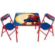 Spiderman Erasable Kids Square Activity Table