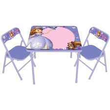 Sofia The First Erasable Kids Square Activity Table Set