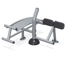 FitTech Footing Mount Sit-up/Back Extension