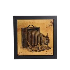 Vintage Camera Framed Wall Art