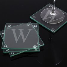 Personalized Glass Coaster (Set of 4)