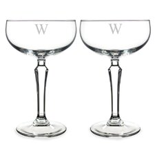 Personalized Champagne Glass (Set of 2)