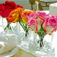 3 Piece Glass Vase Wedding Centerpiece Set