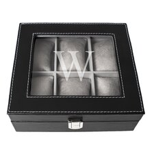 Personalized Men's Leatherette Watch Box