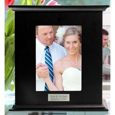 Reception Card Holder Photo Box with Optional Two Block Custom Line