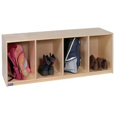 4 Section Classroom Storage Cabinet