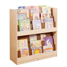 "Double Sided 42.75"" Book Display"