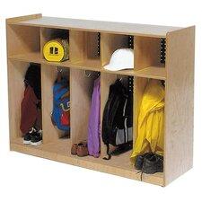 1 Tier 5-Section Toddler Locker