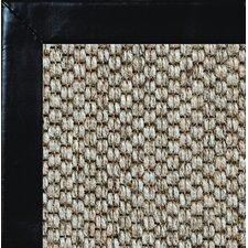 Siskiyou Smooth Leather Bordered Area Rug