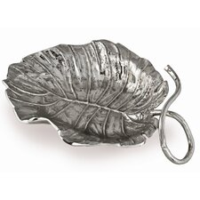 Tropical Leaves Palm Leaf Platter