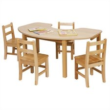"48"" x 30"" Kidney Classroom Table"
