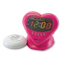 Sonic Boom Sweetheart Vibrating Alarm Clock