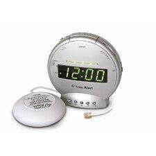 Sonic Boom Vibrating Alarm Clock with Telephone Signaler