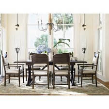 Down Home Counter Height Extendable Dining Table