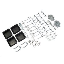DuraHook 64 Piece Hook and Hanging Bin Assortment Kit